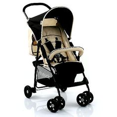 HAUCK-ALMOND-CAVIAR-SPORT-PUSHCHAIR-LIGHTWEIGHT-BABY-STROLLER-BUGGY-FROM-BIRTH