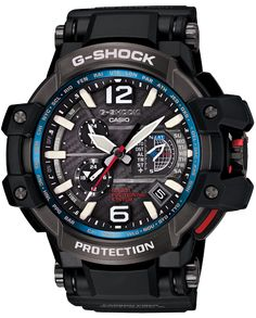 Overview  Introducing the GRAVITYMASTER, GPW1000 – The World's First GPS ATOMIC SOLAR HYBRID with CASIO-original GPS Hybrid radio-controlled technology built inside a TRIPLE G Shock Resistant structure.G-Shock Master of G GPW1000-1A