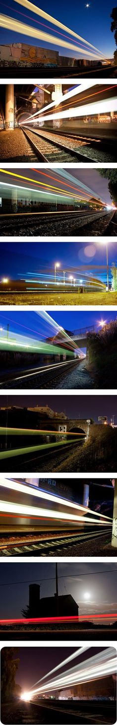 Long Exposure Trains