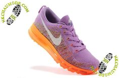 chaussure nike running Air Max 2014 Femme Pourpre/Orange