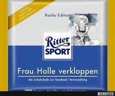 Ritter Sport - Frau Holle verkloppen
