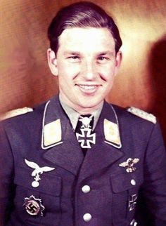 ✠ Gerhard Barkhorn - 301 victories (20 March 1919 – 8 January 1983).:
