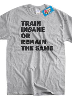Exercise Work Out Gym Health and Fitness Train by IceCreamTees, $14.99
