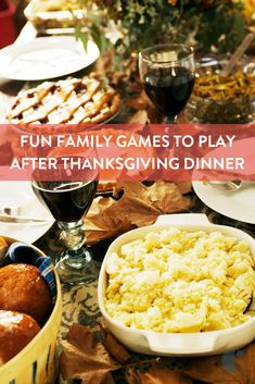 Keep everyone busy and happy on Thanksgiving Day with these fun Thanksgiving family games to play before and after you eat.