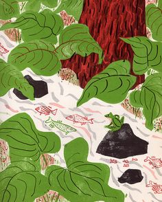 Under the Trees and Through the Grass, 1962 - written by Alvin Tresselt, illustrated by Roger Duvoisin
