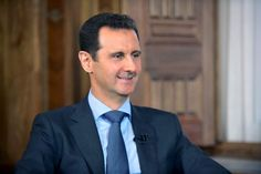 The Syrian dictator