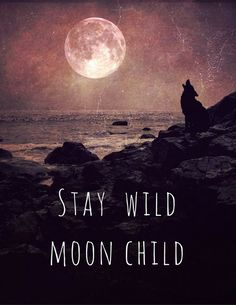 Stay Wild Moon Child PRINT – moon quote, fine art home decor, motivational home wall inspirational typography, office bedroom full moon wolf - moon photography Full Moon Quotes, You Are My Moon, Stay Wild Moon Child, Moon Photography, Photography Studios, Photography Backdrops, Photography Tips, Landscape Photography, Portrait Photography