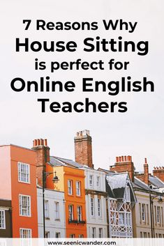 House sitting is an awesome way for digital nomads and online English teachers to travel. Read about why house sitting is perfect for remote workers here.