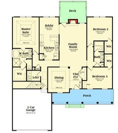 Plan 75475GB: Vaulted And Tray Ceilings