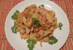 Tejfölös paprikás krumpli sütőben sütve