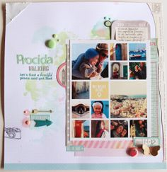 ** Chic Tags- delightful paper tag ** Lori's layout