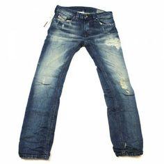 Diesel Thavar 0816K Slim-Skinny Jeans