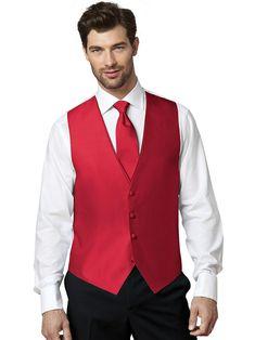 Medium Boys After Six Aries Burgundy Openback Prom Wedding Tuxedo Vest /& Tie