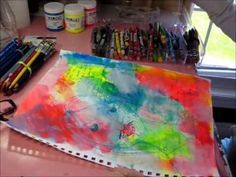 Day 23 of Art Journaling With Christy - YouTube
