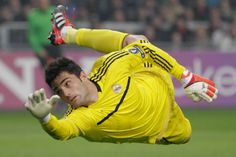 Antonio Adan, Spanish footballer who plays as a goalkeeper for Cagliari Football in Serie A. He has played for Real Madrid.