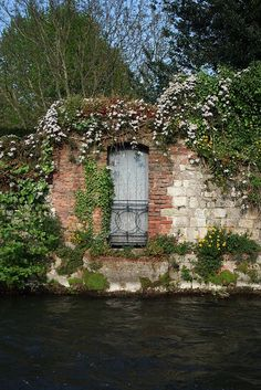I'd love a door that led to water. Hampshire, England
