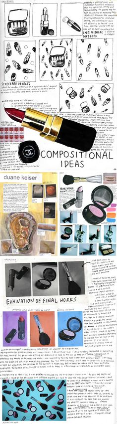 makeup and identity: IB Art
