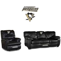 Use this Exclusive coupon code: PINFIVE to receive an additional 5% off the Pittsburgh Penguins Leather Furniture Set at SportsFansPlus.com