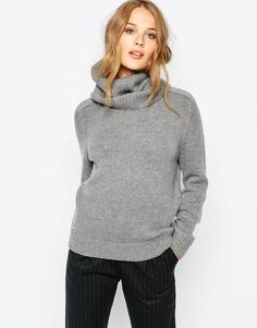 Image 1 of Suncoo Pax Sweater With Detatchable Collar