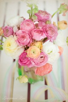 Ranuculus, specifically the Persian Buttercups, are a must for Easter and spring.