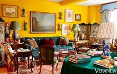 Miles Redd Designs A Colorful Manhattan Apartment - Tour A NYC Apartment
