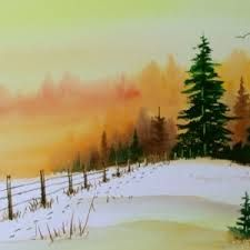 easy fall painting - Google Search