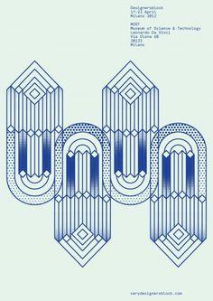 Designersblock Milano 2012 poster