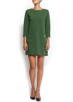 Straight-cut dress $79.90