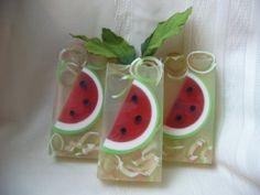 Watermelon Clear Glycerin Soap