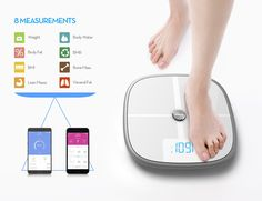 A curated collection of smart gadgets and home accessories that you need right now. From vacuums to automatic window cleaning drones. Basal Metabolic Rate, Smart Scale, Visceral Fat, Total Body, Smart Home, Metabolism, Wifi, Bluetooth, Gadget