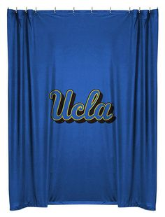 UCLA Bruins NCAA  Sports Coverage Team Color Shower Curtain  #SportsCoverage