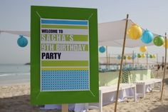 pool party beach party