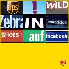 """Ups! Wild Zebra in #adidas shoes auf #facebook""   #urbanpoetry #berlin #wien #zürich"