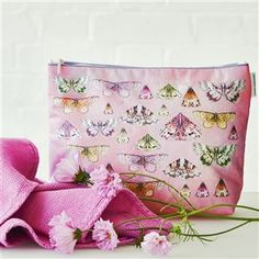 Our Issoria Rose butterfly features in this elegant large wash bag. Digitally printed onto cotton canvas with new matt waterproof finish and lining. Designers Guild, Wash Bags, Toiletry Bag, Cotton Canvas, Canvas Prints, Photo And Video, Elegant, Fabric, Instagram Posts