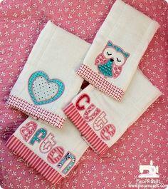 Cute burpcloths!