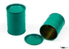 Lata de metal colorida. Consulte todas as nossas embalagens de metal: http://loja.mediapack.com/pt/embalagens-de-metal/