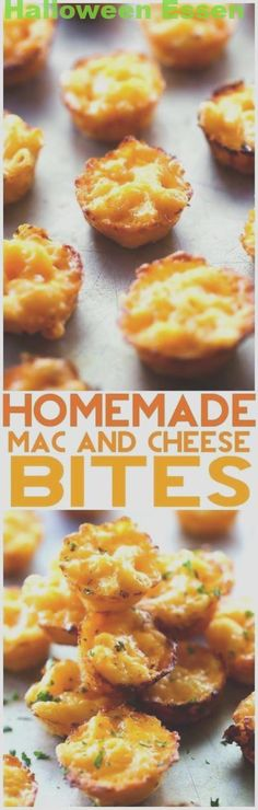 Homemade Mac and Cheese Bites… These are so simple and the perfect finger food ideal for serving kids and as an appetizer! Homemade Mac and Cheese Bites… These are so simple and the perfect finger food ideal for serving kids and as an appetizer! Snacks Für Party, Appetizers For Party, Appetizer Recipes, Delicious Appetizers, Appetizer Ideas, Party Desserts, Cheese Appetizers, Cheese Snacks, Birthday Appetizers