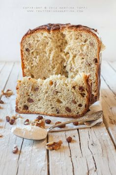 Christmas cake : Un panettone Party Desserts, Dessert Recipes, Italian Panettone, Savory Bread Recipe, Our Daily Bread, Sweet Pastries, Sweet Bread, Christmas Desserts, Bread Baking