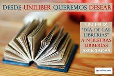 13 noviembre, Día de las librerías.