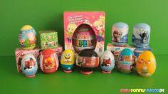 Surprise Eggs Spongebob Adventure Time Peppa Pig Harry Potter Giant Egg ...