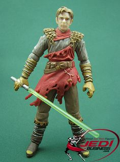 Star Wars Action Figure Ulic Qel-Droma (Star Wars: Tales Of The Jedi), Star Wars The Legacy Collection