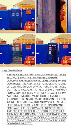 Parking the Tardis