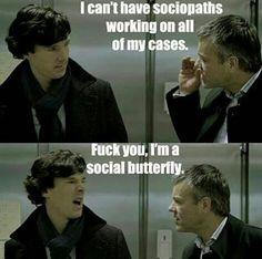 Sherlock and Greg :)