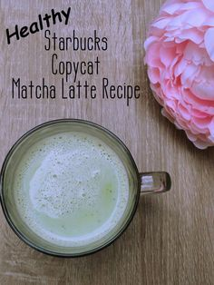 How to Make a Healthy Starbucks Matcha Green Tea Latte Starbucks' green tea matcha latte is mostly sugar. You can make a healthier version at home that's cheaper and healthier! I've also included in-depth ingredients research. Matcha Tea Latte, Matcha Latte Recipe, Matcha Drink, Starbucks Matcha Green Tea Latte Recipe, Matcha Green Tea Smoothie, Green Smoothies, Healthy Starbucks Drinks, Healthy Drinks, Starbucks Recipes