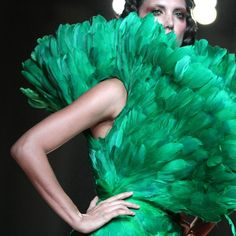 Emerald is this year's It color.  Inspiration comes from anywhere ...  pantone Emerald, Bangkok International Fashion Week