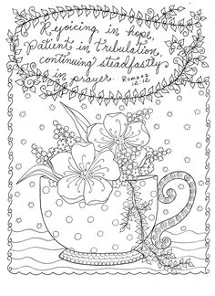 Scripture Garden Christian Coloring for all ages by Artist Deborah Muller: Deborah Muller: 0641243892627: Amazon.com: Books