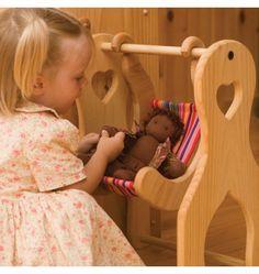 Nova Natural Toys + Crafts - julie's swing - Dolls - Playing