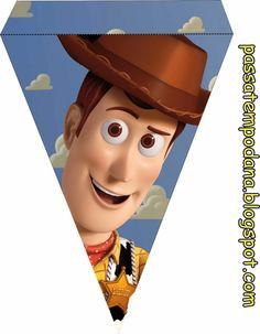 Toy Story: Imprimibles Gratis e Imágenes del Kit.