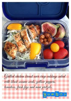 Office packed lunch - light, healthy and easy.