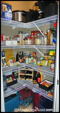 Armoires et rangement de cuisine pensez au garde manger walk in - Rangement garde manger ...